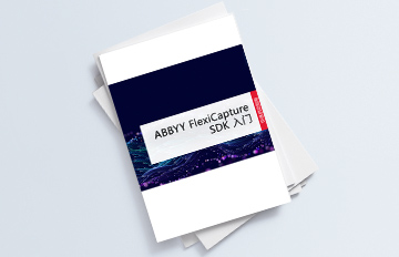 ABBYY FlexiCapture SDK快速启动指南